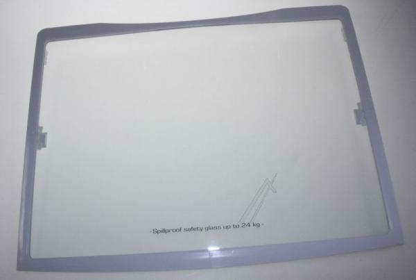 Szyba | Półka szklana kompletna do lodówki 0060810246,0
