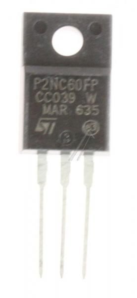 P2NC60FP Tranzystor TO-220FP (n-channel) 600V 1.9A 125MHz,0