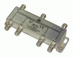 Rozgałęźnik antenowy F - F (gniazdo/ gniazdo x6),0