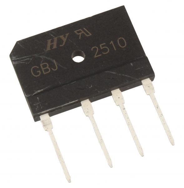 GBJ2510 Mostek prostowniczy 1000V 25A,0