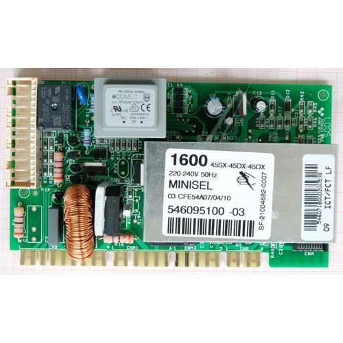Moduł elektroniczny skonfigurowany do pralki 546095100,0