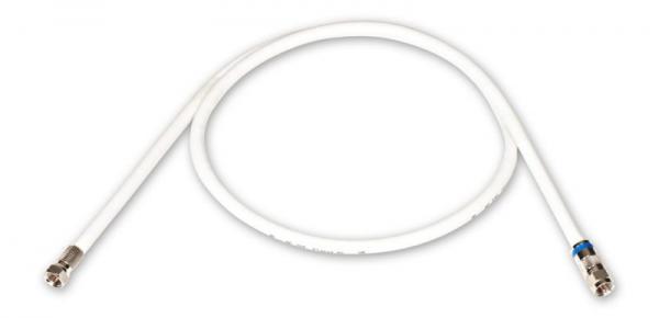Kabel antenowy 0.9m FUBA (gniazdo/gniazdo),0
