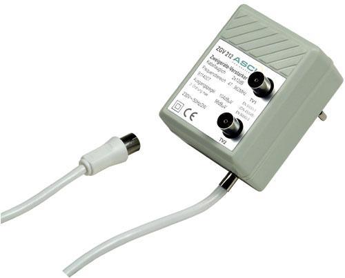 ZGV212 wzmacniacz antenowy 2x12db ASCI,0
