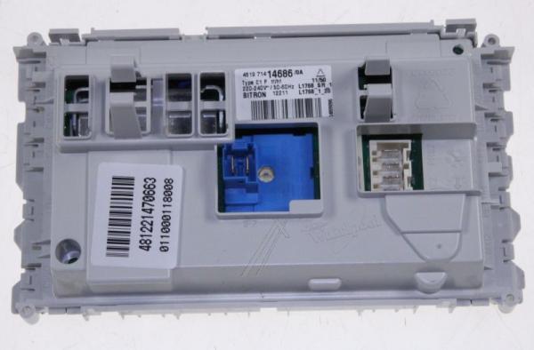 Moduł elektroniczny skonfigurowany do pralki 481221470663,0