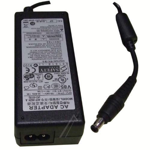 Ładowarka | Zasilacz 19V/3.16A/60W do laptopa Samsung BA4400243A,0