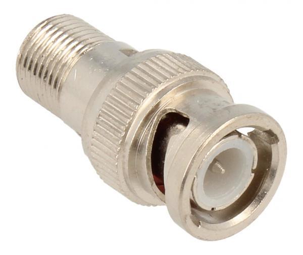 Adapter BNC - Złącze F (wtyk/ gniazdo),0
