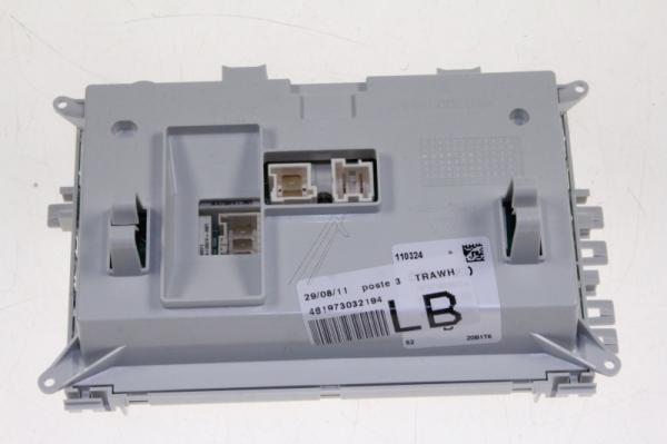 Moduł elektroniczny skonfigurowany do pralki 481221470918,0