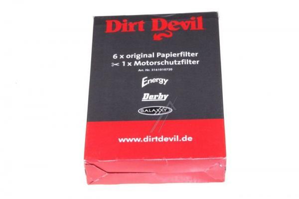 Worek do odkurzacza Dirt Devil 6szt. (+filtr) 3161010720,0