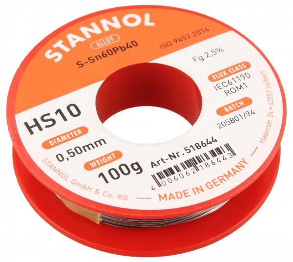 Cyna 0.5mm 100g Stannol,0