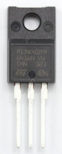 STP17NK40ZFP Tranzystor TO-220FP (n-channel) 400V 15A 43MHz,0