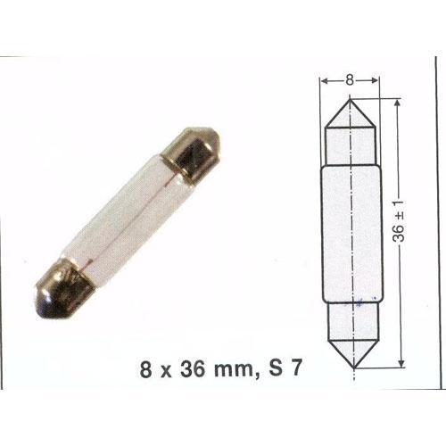 Żarówka soffitte 2W,0