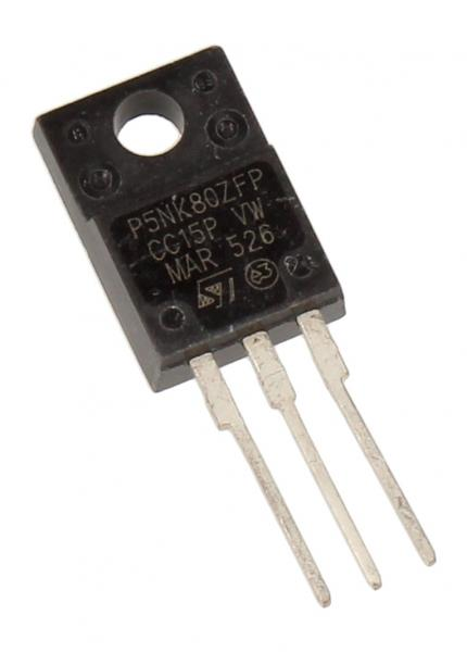 STP5NK80ZFP Tranzystor TO-220FP (n-channel) 800V 4.3A 40MHz,0