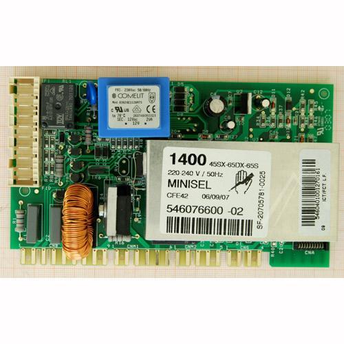 Moduł elektroniczny skonfigurowany do pralki 546076600,0