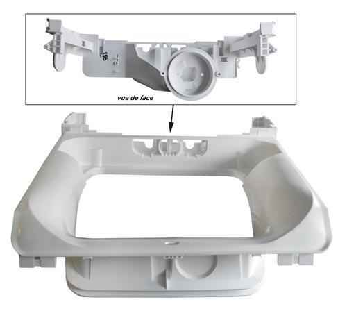 Obręcz | Ramka wewnętrzna klapy do pralki 4071423406,0