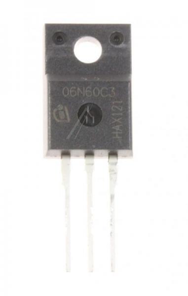 SPA06N60C3 Tranzystor TO-220F (n-channel) 650V 6.2A 83MHz,0