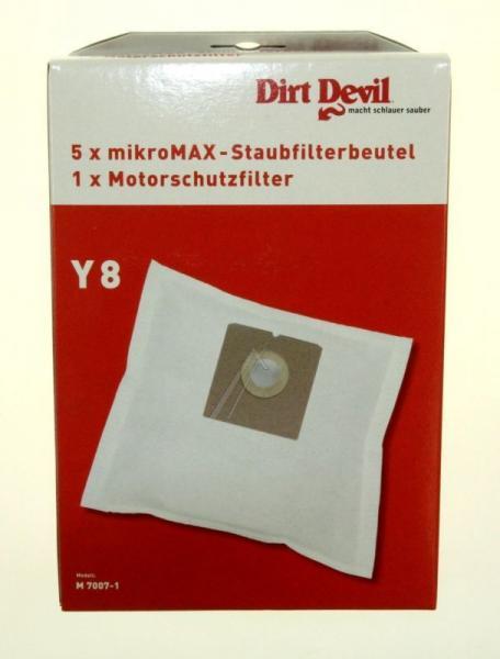 Worek do odkurzacza Y8 Dirt Devil 5szt. (+filtr) 7007022,0