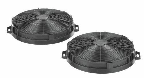 Filtr węglowy LZ54650 LZ54750 aktywny w obudowie do okapu Siemens 00644195,0
