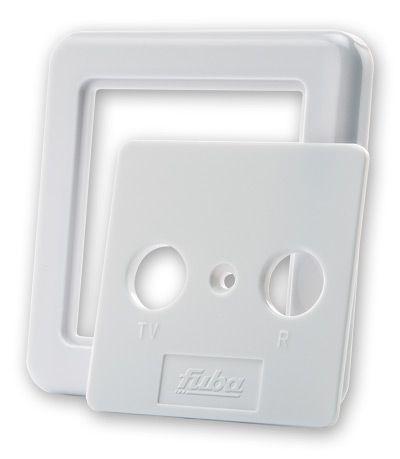 Obudowa naścienna 75mm gniazda sieciowego FUBA 22520066,0