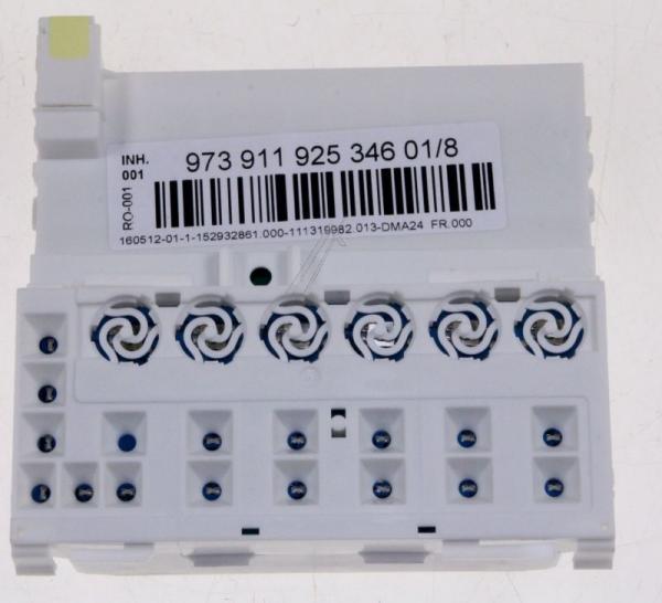 Moduł sterujący (w obudowie) skonfigurowany do zmywarki 973911925346018,0