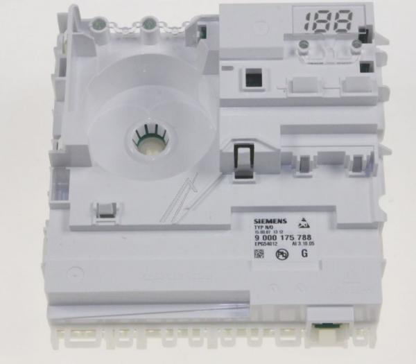 Moduł sterujący (w obudowie) skonfigurowany do zmywarki Siemens 00642318,0