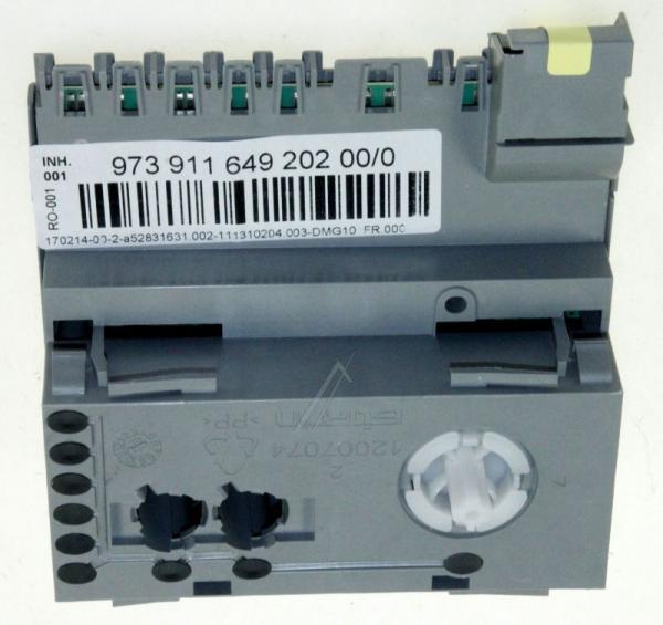 Moduł sterujący (w obudowie) skonfigurowany do zmywarki 973911649202000,0