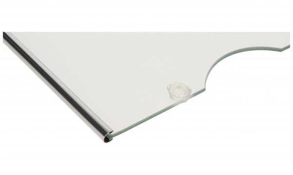 Szyba | Półka szklana szklana kompletna do lodówki Liebherr 929388200,1