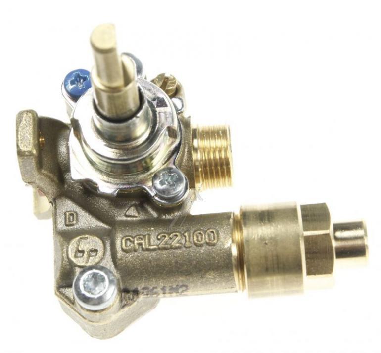 Zawór gazu palnika do kuchenki AEG 3577306164,1