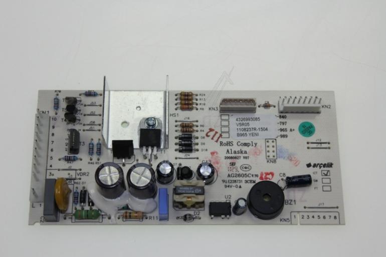 4326993085 CONTROL BOARD ASSY(B965_YENI GORUNUS ARCELIK / BEKO,1