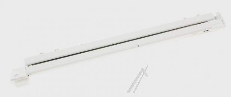 Lewa prowadnica pojemnika świeżości do lodówki Liebherr 789012800,0