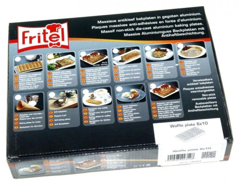 Płyty grzejne do wafli do gofrownicy Fritel 142354,0