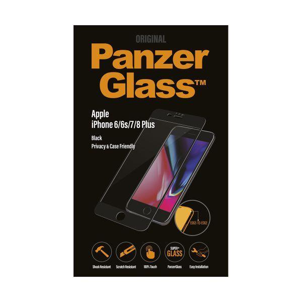 Szkło hartowane Panzer Glass na wyświetlacz do smartfona Apple iPhone 6/6S/7/8 Plus P2619,1