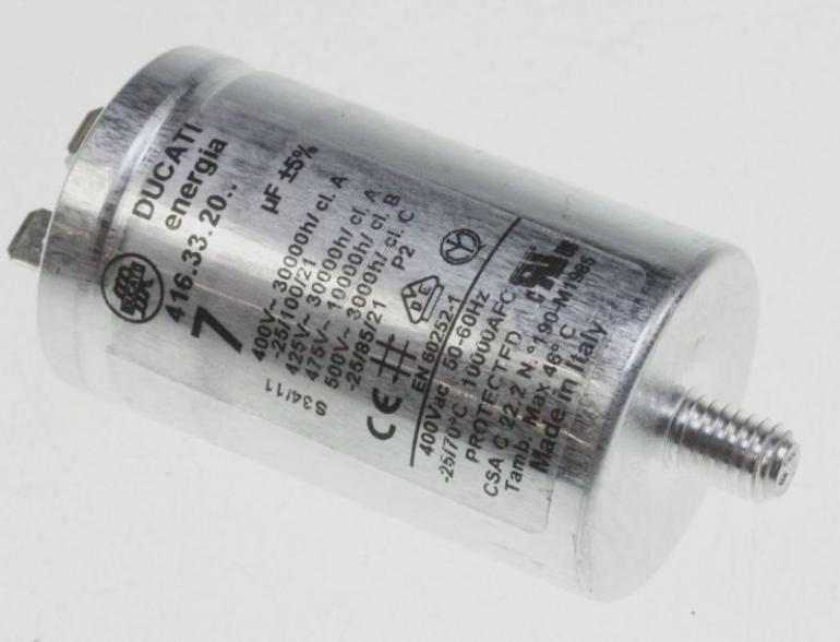 Kondensator rozruchowy 482000031437,0