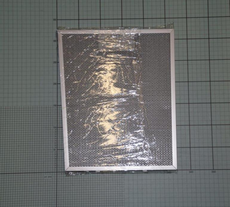 Filtr przeciwtłuszczowy metalowy (aluminiowy) do okapu Amica 1010429,1