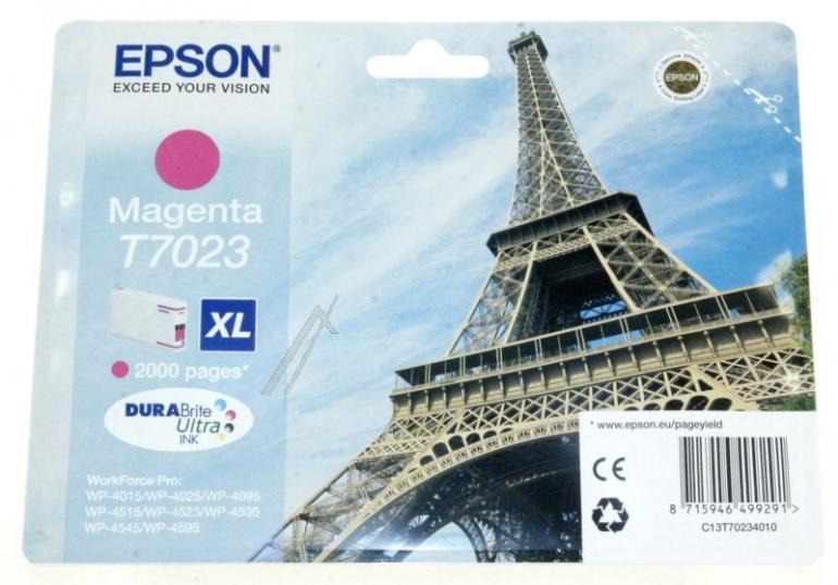 Tusz magenta do drukarki EPSON C13T70234010,0
