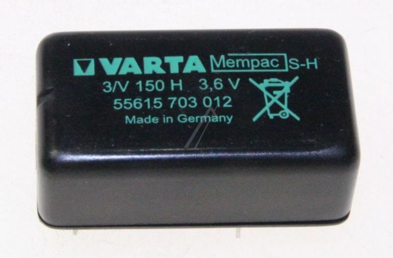 Akumulator do elektronarzędzi VARTA 3,6V-150MAH 55615703012,0