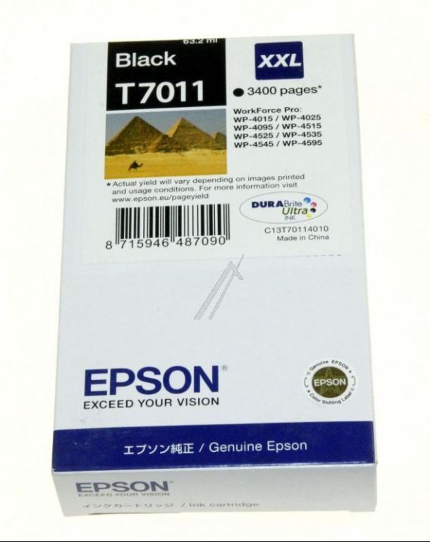 Tusz czarny do drukarki EPSON C13T70114010,0