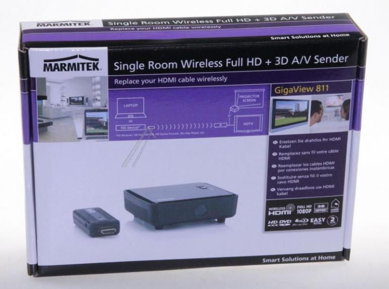 Transmiter bezprzewodowy audio/video 08082,1