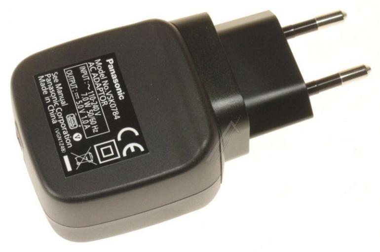 Ładowarka sieciowa bez kabla do kamery Panasonic VSK0784GA,0