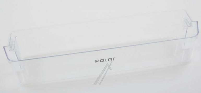 Dolna półka na drzwi chłodziarki do lodówki Polar 481010679383,0