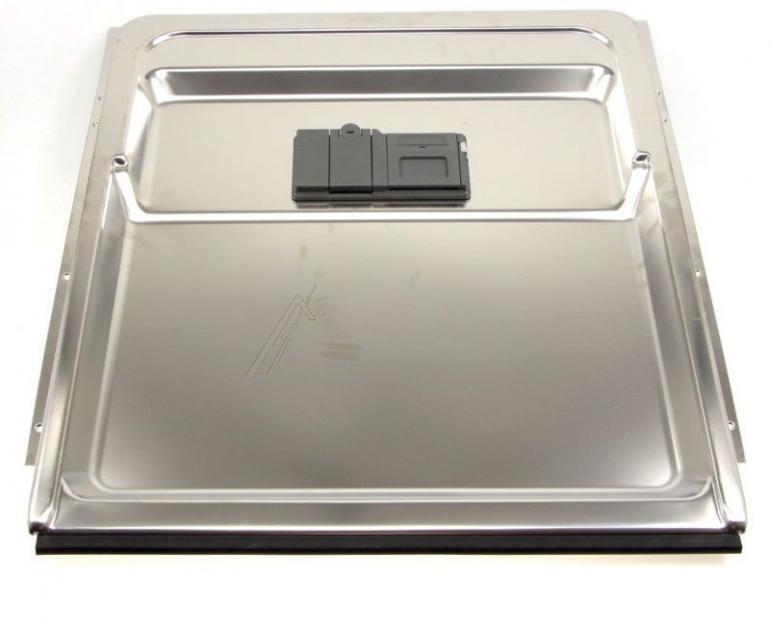 Wewnętrzna blacha drzwi z dolną uszczelką i dozownikiem detergentów do zmywarki Whirlpool 488000386638,0