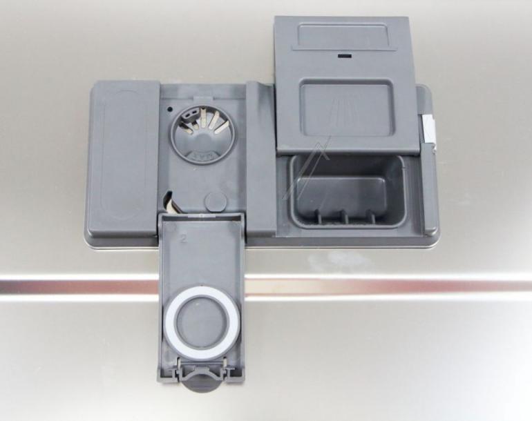 Wewnętrzna blacha drzwi z dolną uszczelką i dozownikiem detergentów do zmywarki Whirlpool 488000386638,2