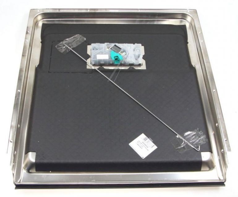 Wewnętrzna blacha drzwi z dolną uszczelką i dozownikiem detergentów do zmywarki Whirlpool 488000386638,3