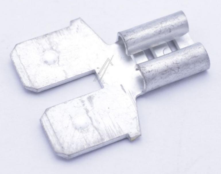 193990 złączka płaska 6,3x0,8 GORENJE,0