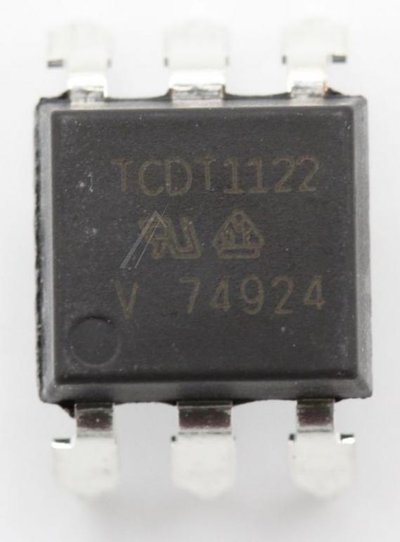 TCDT1122G OPTOKOPPLER, TRANSISTORAUSGANG, 1 KANAL, DIP, 6 PIN(S) VISHAY,0