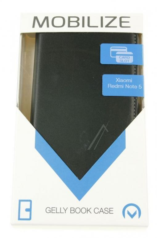 24245 CLASSIC GELLY WALLET BOOK CASE XIAOMI REDMI NOTE 5 PLUS MOBILIZE,0