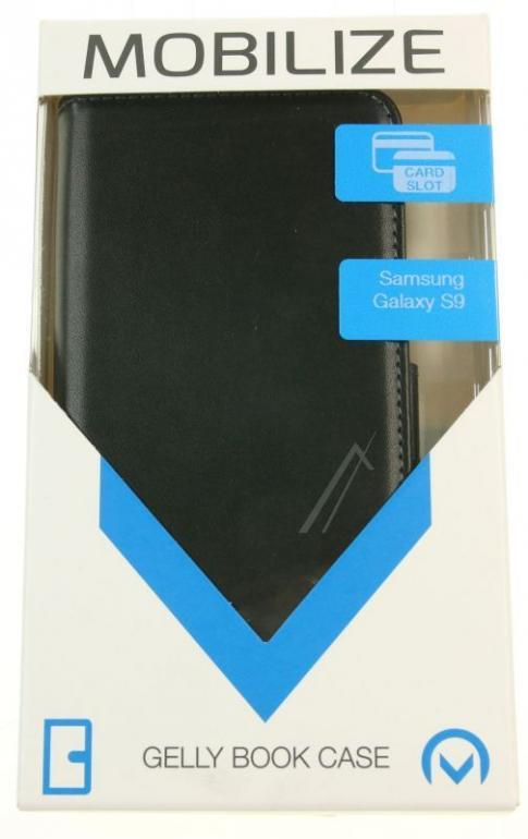 24137 Etui Wallet Book do  Galaxy S9, czarne MOBILIZE,1