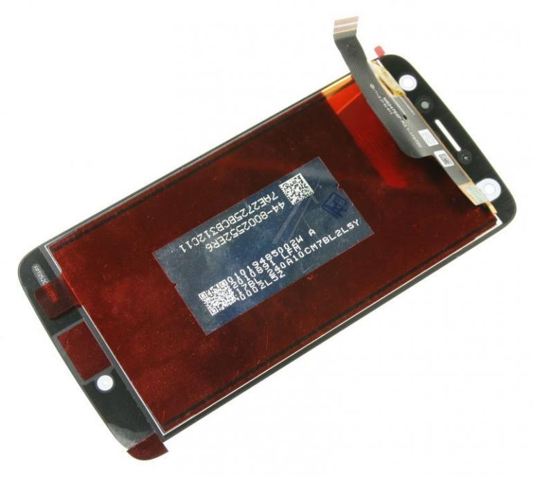 Panel dotykowy z wyświetlaczem w obudowie do smartfona Motorola 01019484002W,1