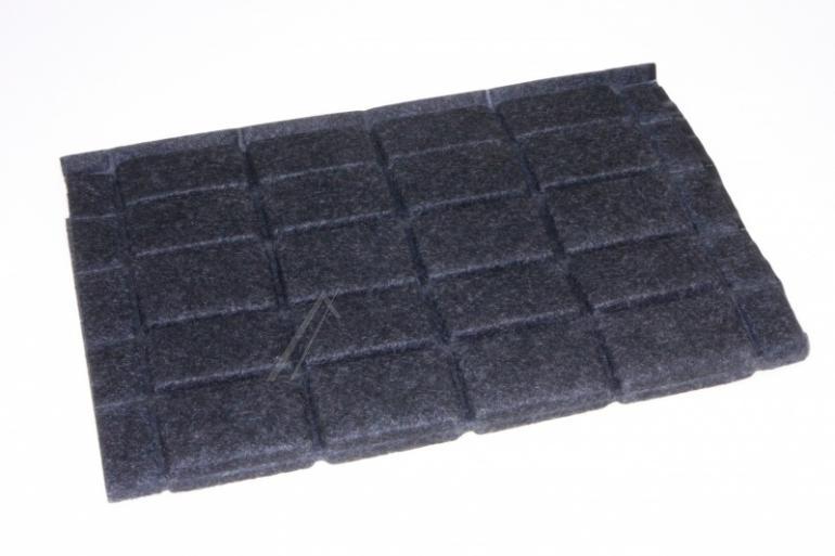 Filtr węglowy prostokątny 92X3465 do okapu De Dietrich 580x430mm,0