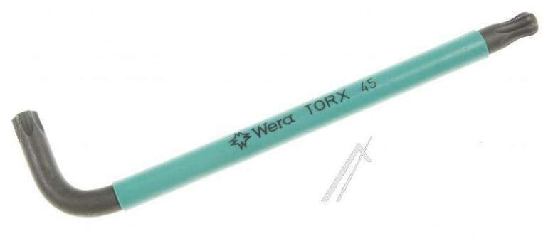 024316 967SPKLTORXBO Klucz trzpieniowy Torx z otworem TX45 WERA,1