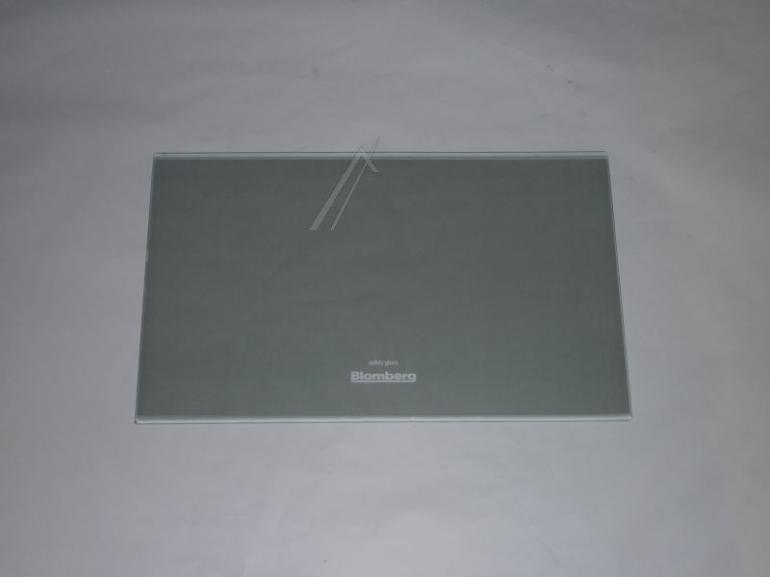 Półka szklana bez ramek do komory chłodziarki do lodówki Blomberg 4362721700,0